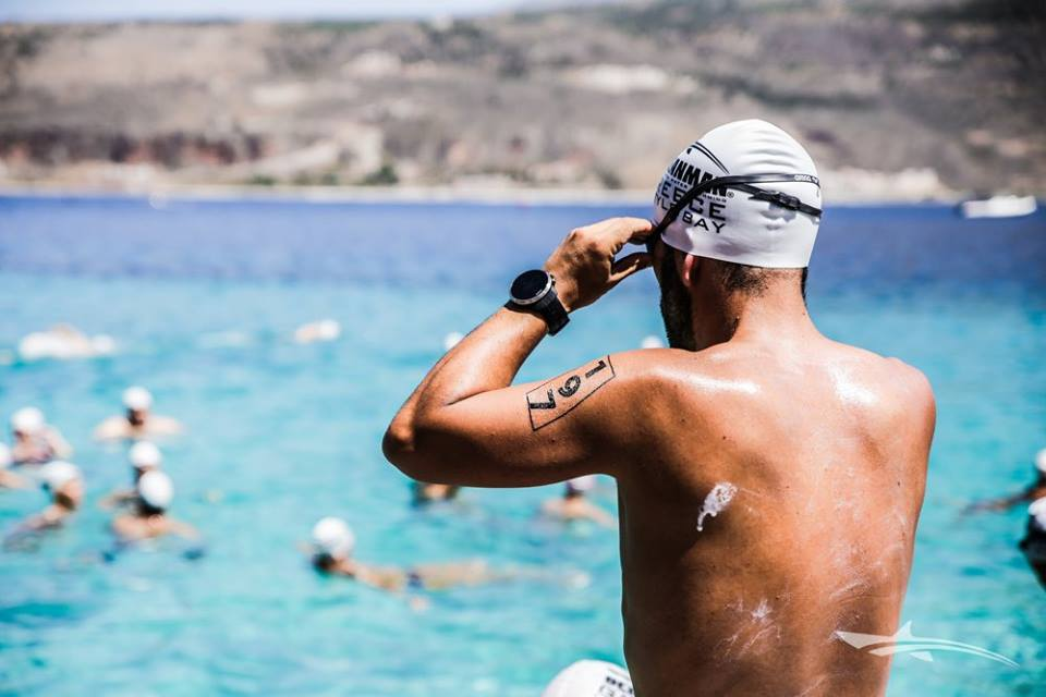 091e20ae Tattumi supplied Oceanman race number tattoos for their inaugural Greece  event held in the glorious Oitylo Bay on the 2nd July 2017 .
